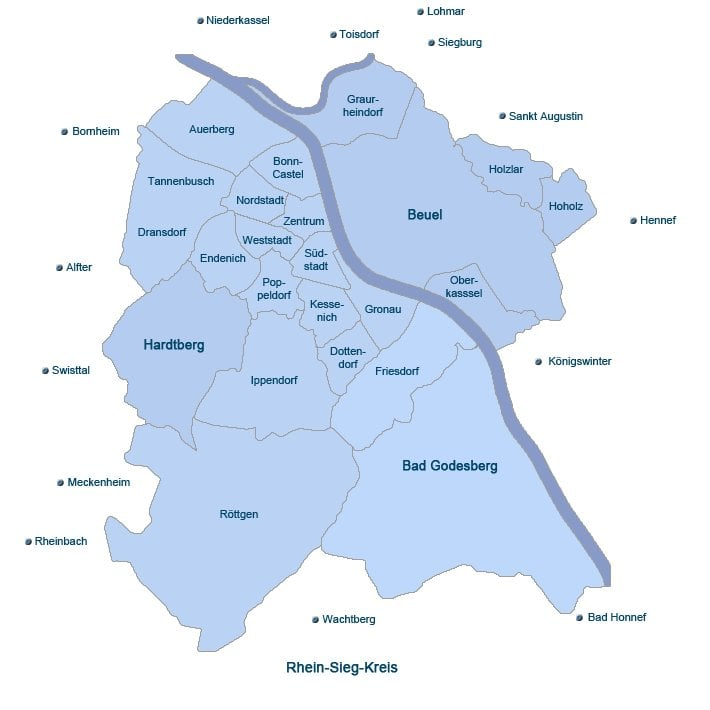 Provisionsfreie Wohnungen Bonn